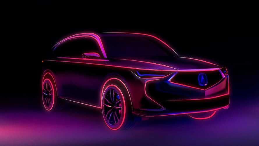 Acura показала на видео новый MDX и назвала дату премьеры