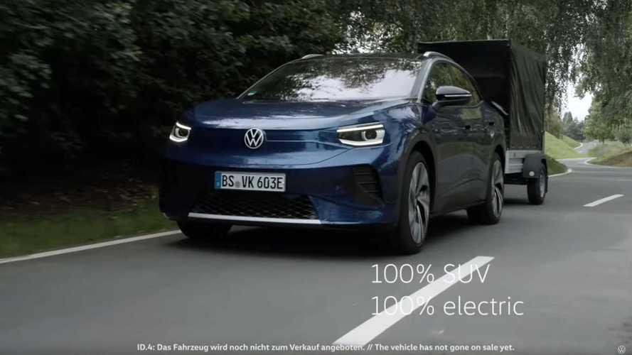 Volkswagen ID.4 com o visual (quase) definitivo aparece em vídeo oficial