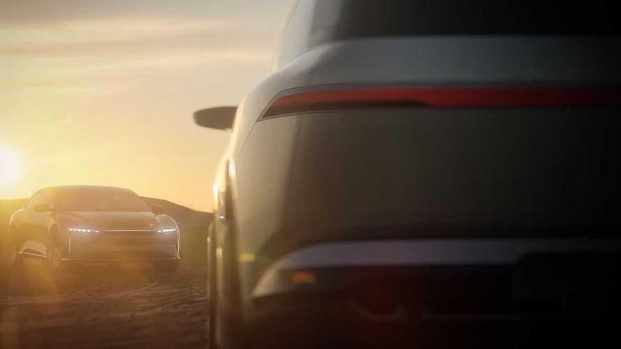 Lucid mostra imagem do SUV elétrico que promete bater o Tesla Model Y