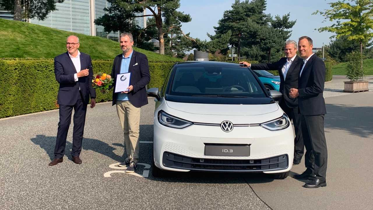 The First Volkswagen ID.3 1ST delivery