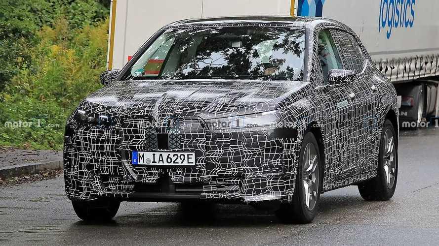 Новые шпионские фото BMW iNext