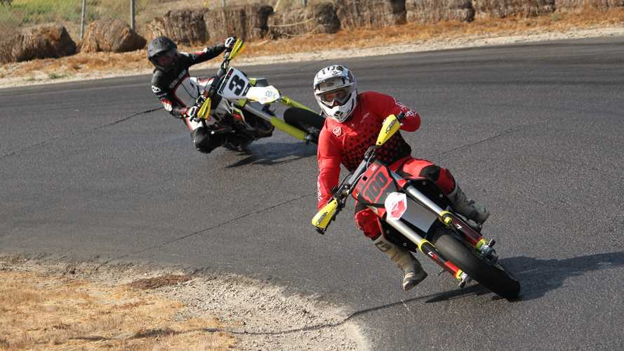 Leveling Up With The Live 100 Percent Supermoto School