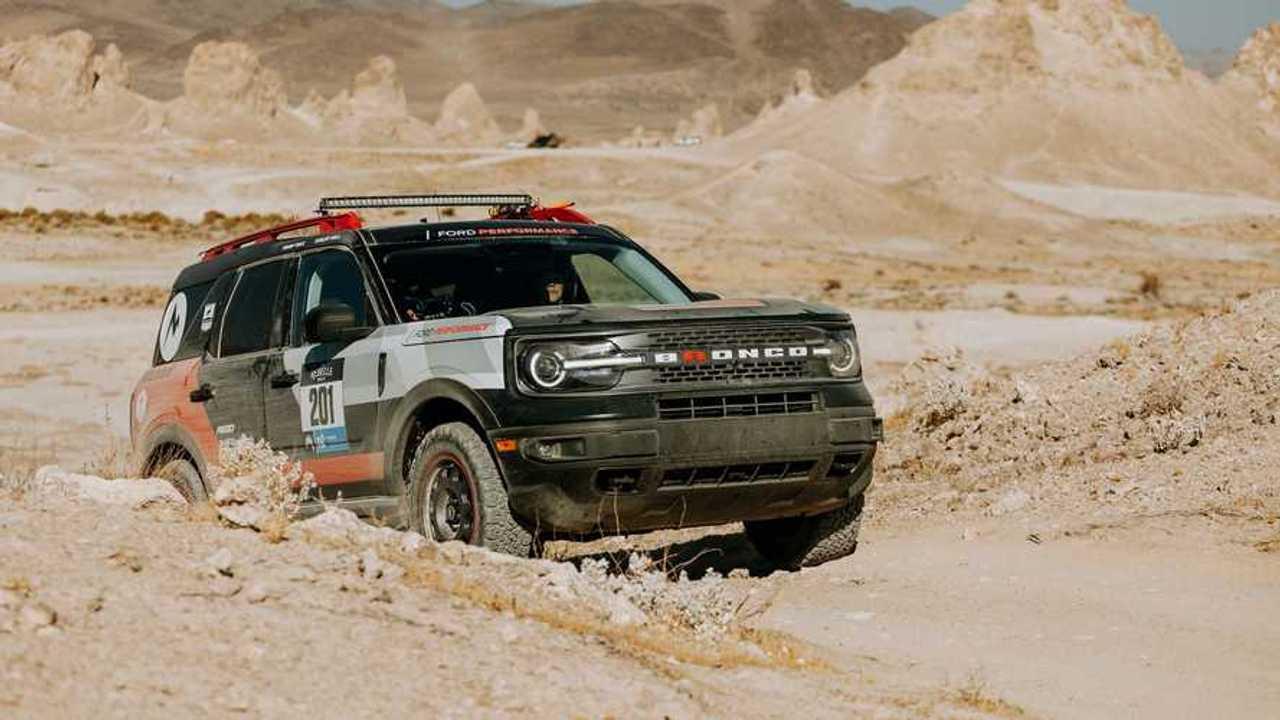 Ford Bronco Sport en el Rally Rebelle