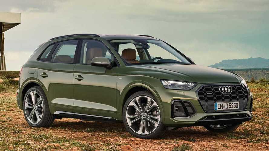 Audi Q5 Sportback (2021) vs. Audi Q5 (2020)