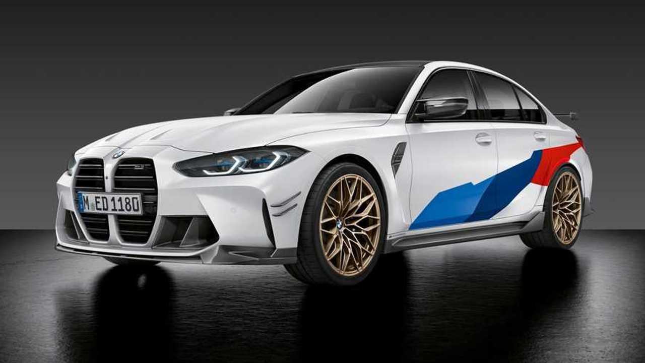 Новые BMW M3 и M4 с опциями M Performance