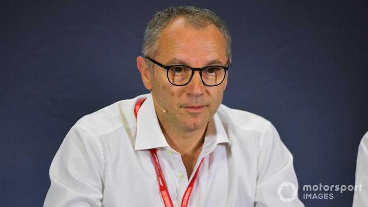 Stefano Domenicali at Spanish GP 2019
