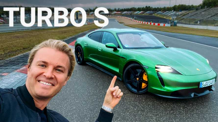 Nico Rosberg Goes Sideways In A Porsche Taycan Around The Nurburgring