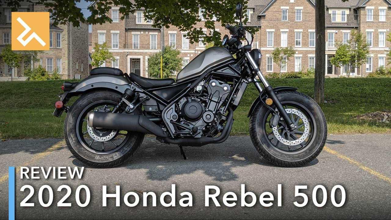 Review: 2020 Honda Rebel 500 Main