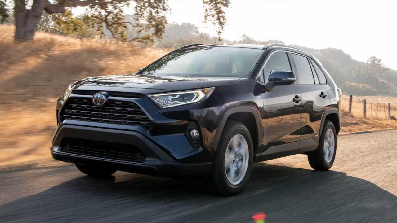 2021 Toyota RAV4 Hybrid Front 3/4