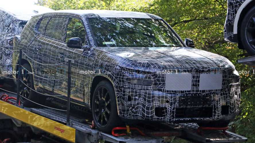 Upcoming Extra-Large BMW X8 Spied Showing Soft Styling