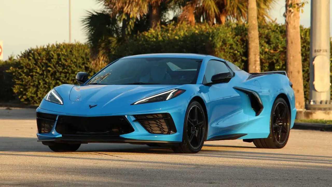 2020 Chevrolet Corvette Dönüştürülebilir Dış