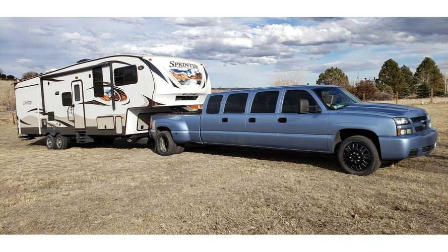 Would You Pay $32,000 For This Chevy Silverado Dually Limo?