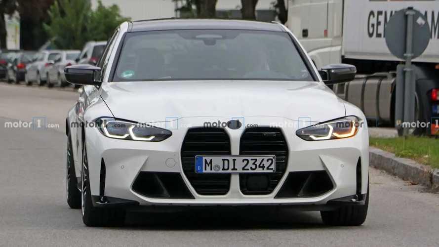 2021 BMW M3 casus fotoğraflar