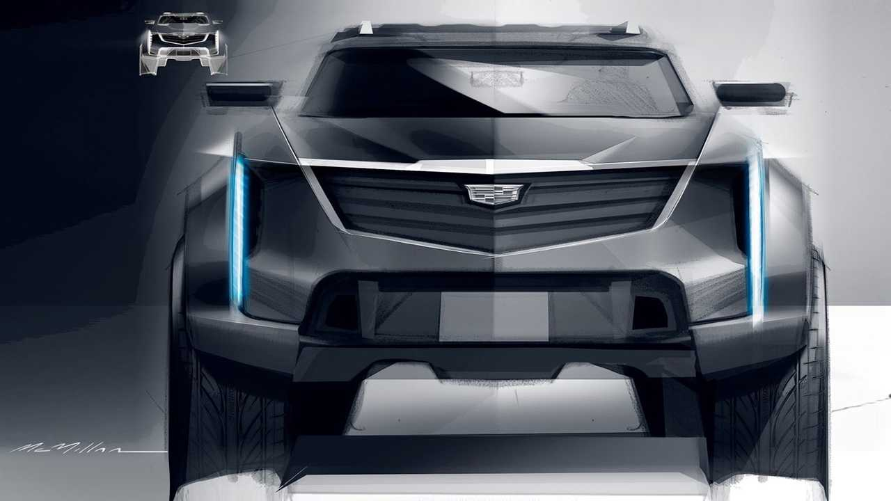 Cadillac Truck Sketch From GM Design