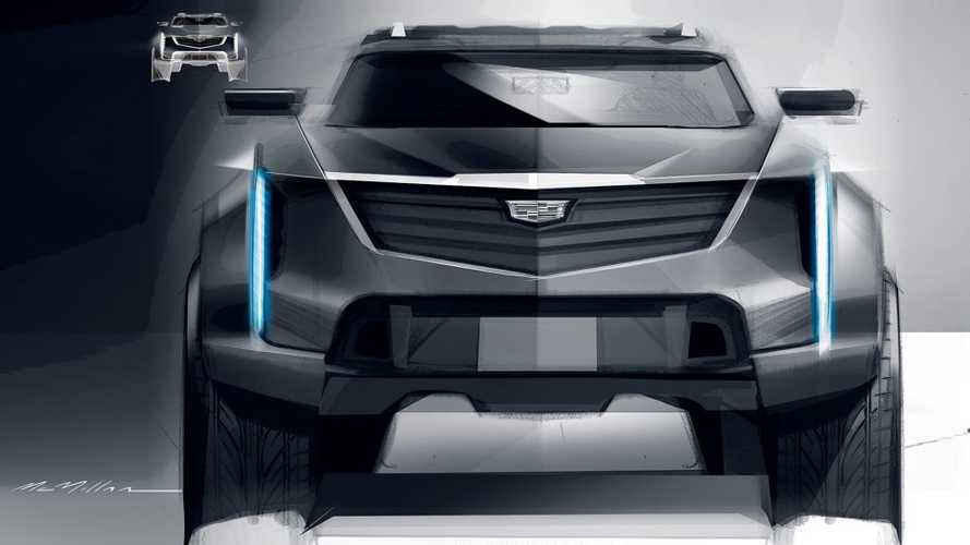 Official Cadillac Design Sketch Might Preview Future Electric SUV