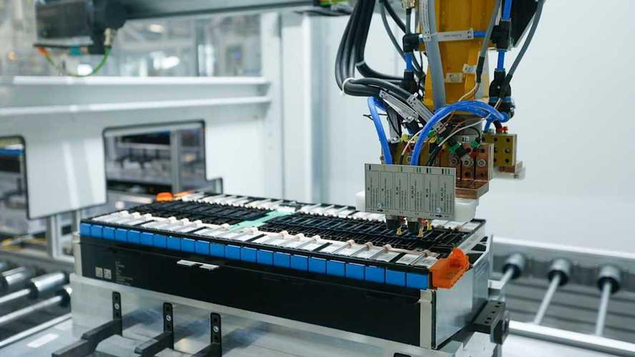 BMW Group Plant Leipzig - battery module production