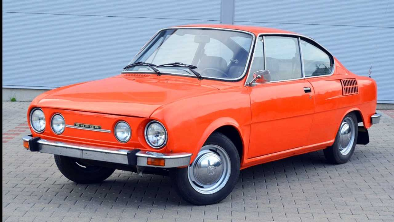 Skoda 110R Coupe