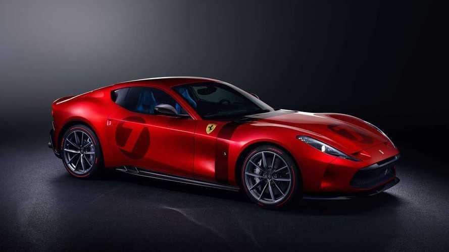 Ferrari Omologata - Un modèle unique à moteur V12