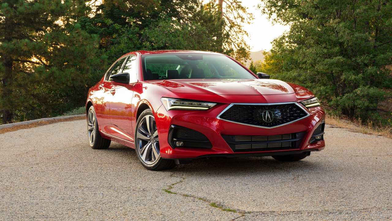 2021 Acura TLX Advance Exterior