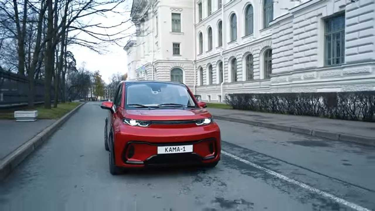 Kamaz Kama 1 - carro elétrico russo