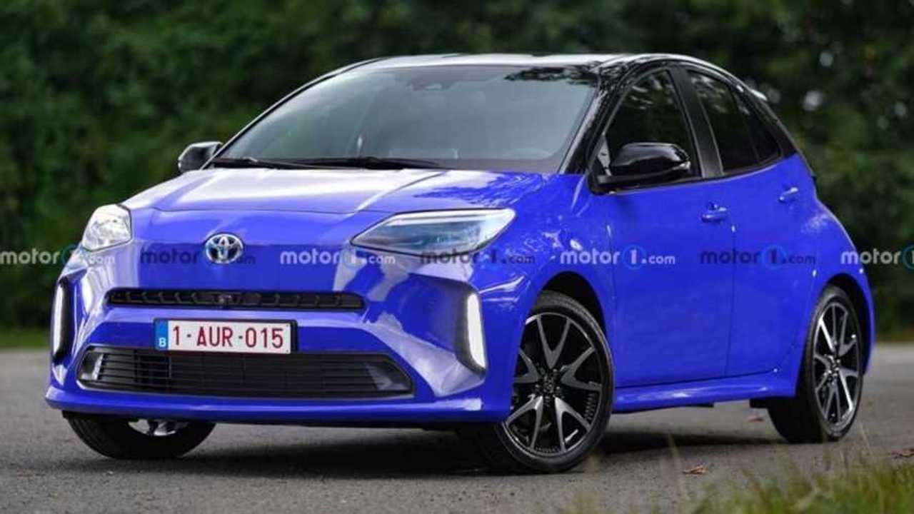 Rendu Toyota Aygo (2021)