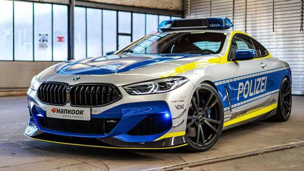 BMW M850i de AC Schnitzer, coche de policía