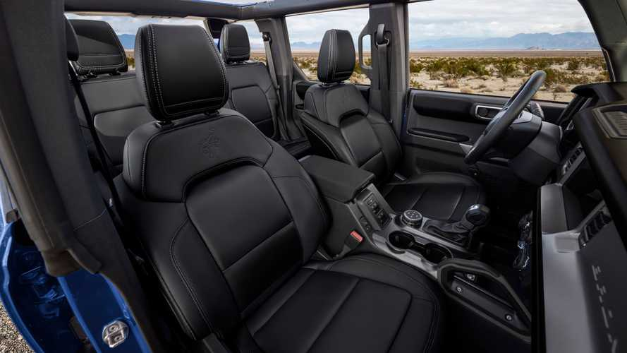 2021 Ford Bronco First Edition Black Onyx Interior Officially Revealed