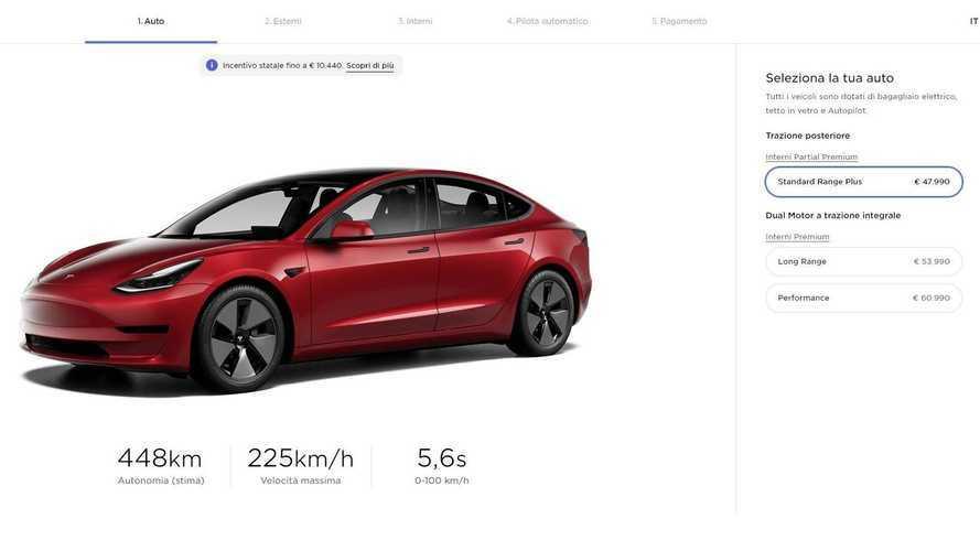 Tesla taglia i prezzi della Model 3: anche la Performance con l'ecobonus