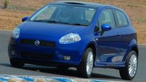Fiat Punto MultiJet testing