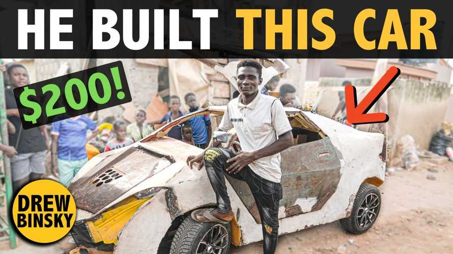 Teenager Builds Car From Scrap Metal For $200