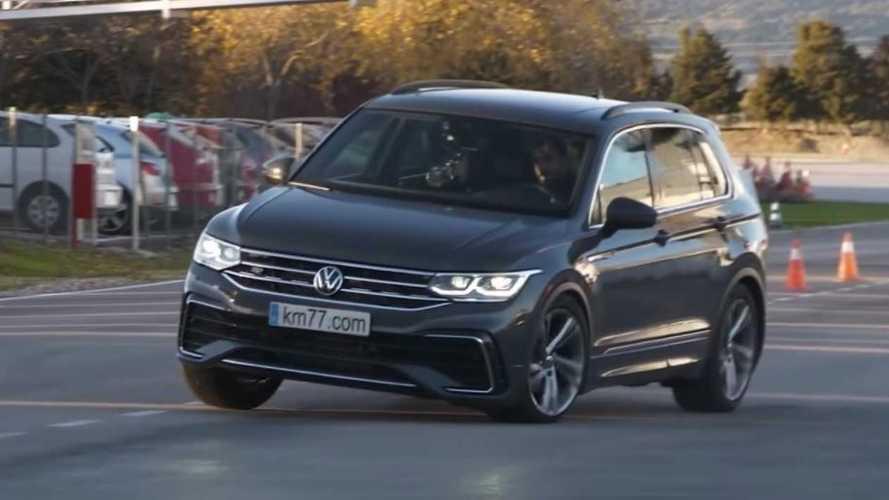 Vidéo - Le VW Tiguan se met à bondir lors du test de l'élan