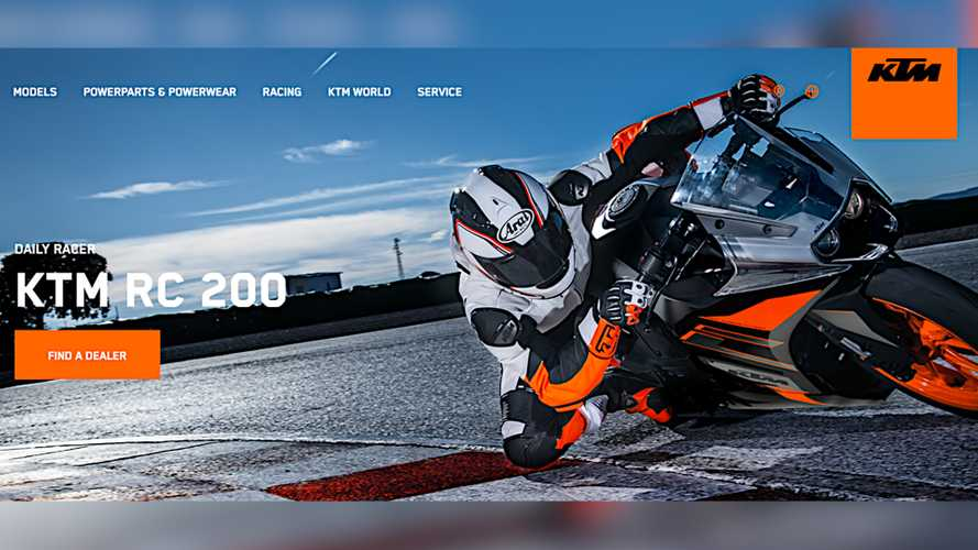 2021 KTM RC 200 Spotted On Production Line With Updated Styling
