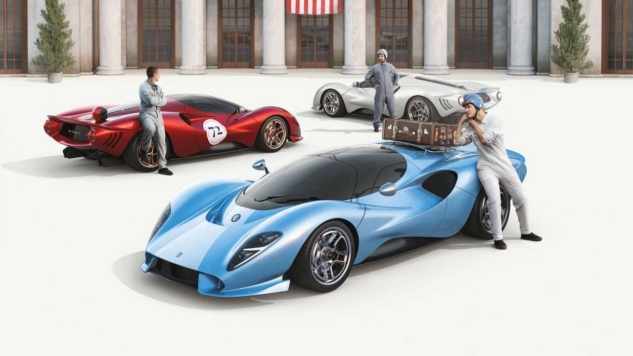De Tomaso American Manufacturing Announcement Cars