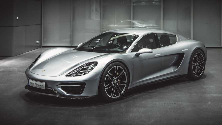 Previously Unseen Porsche Vision Turismo Paved The Way For The Taycan