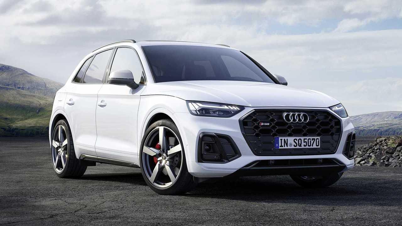 Audi SQ5 TDI restyling (2021)