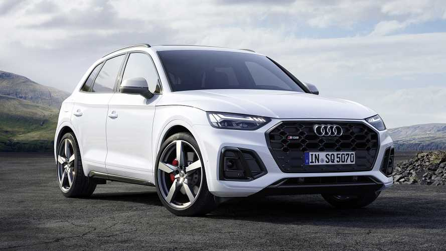 """Audi SQ5 TDI restyling, torna il SUV """"super diesel"""" ed è mild hybrid"""