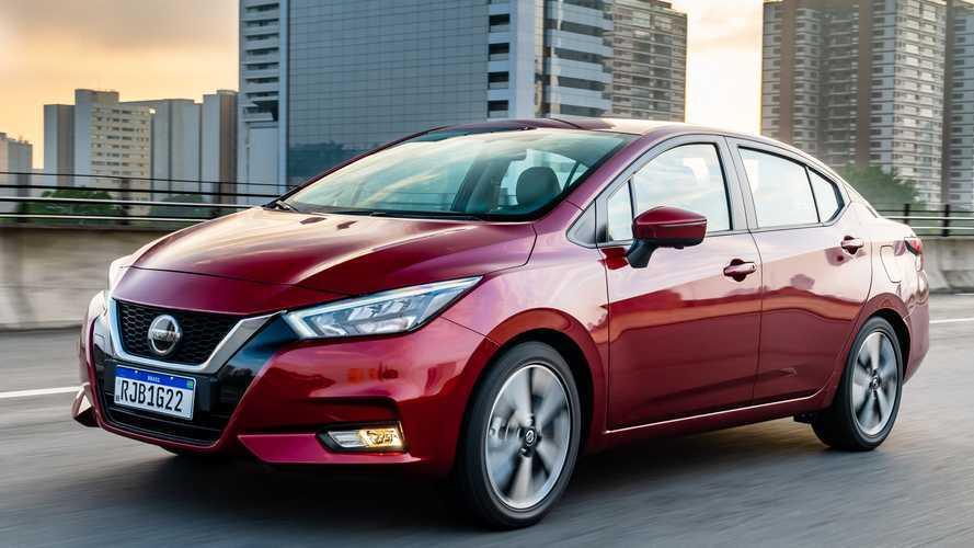 Carros mais vendidos em dezembro: Versa já supera 208 como melhor novato