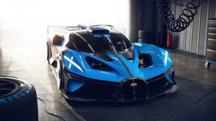 Bugatti представила Bolide – свой самый легкий и мощный гиперкар