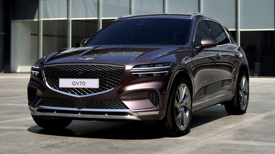 2022 Genesis GV70 revealed as brand's second luxury SUV