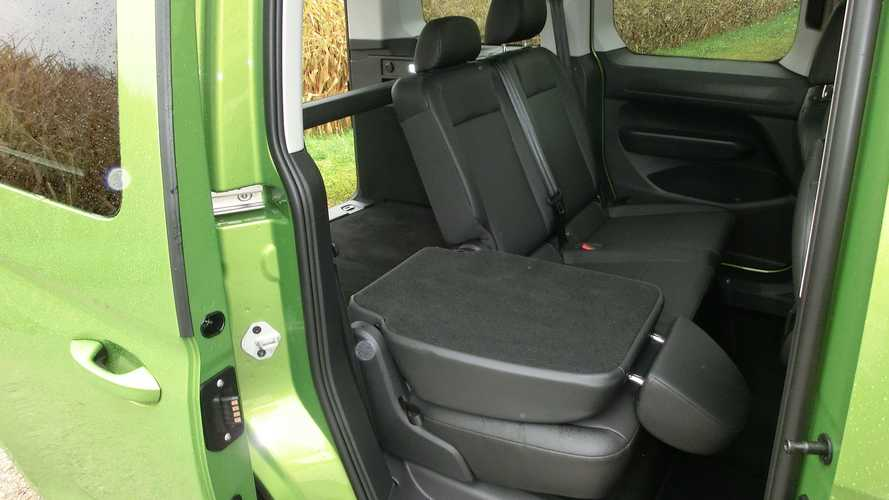 VW Caddy (2021): Bei dem Tumble-Sitzsystem lassen sich die ...