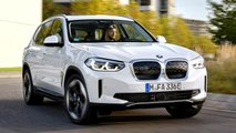 BMW iX3 (2021), la prova