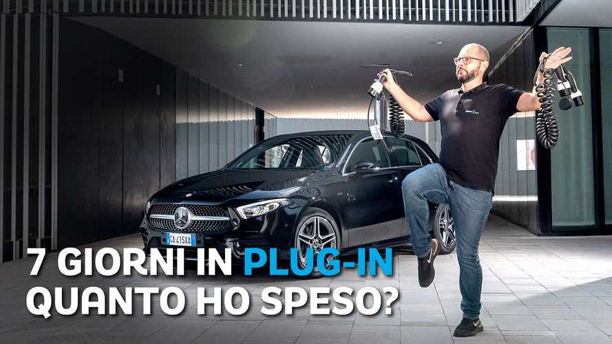 """""""Una settimana da PLUG-IN"""" con la Mercedes A250e"""