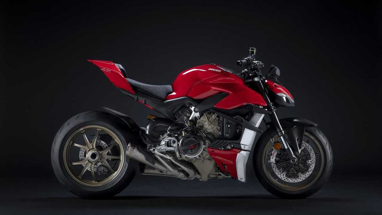 Ducati Streetfighter V4 Performance Accessories - Side