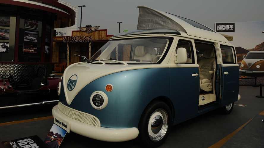 ¿Qué te parece esta furgoneta china con aires de Volkswagen T1?
