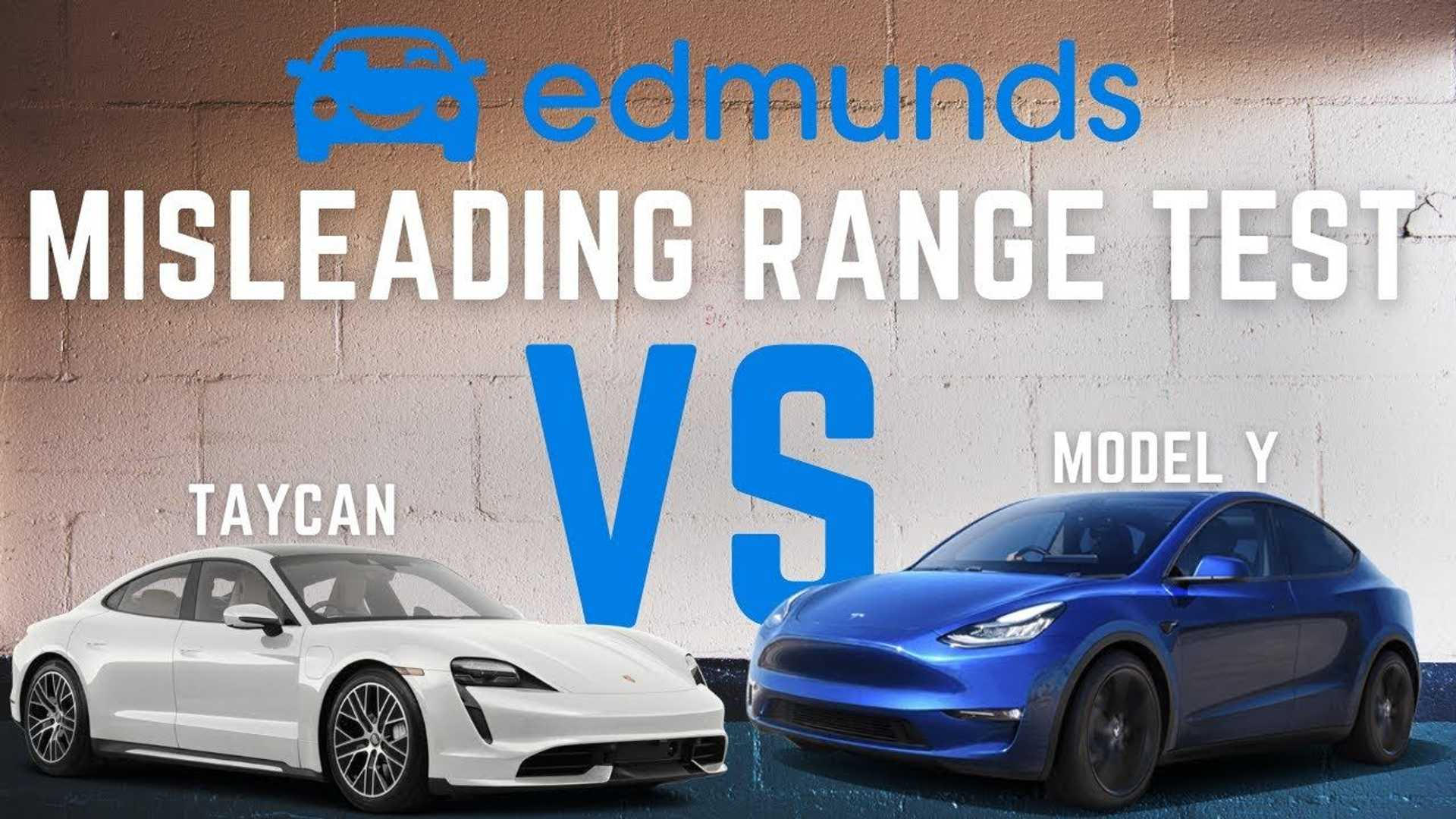 Is Edmunds' Recent Tesla Model Y Vs Porsche Taycan Range Test Fair?