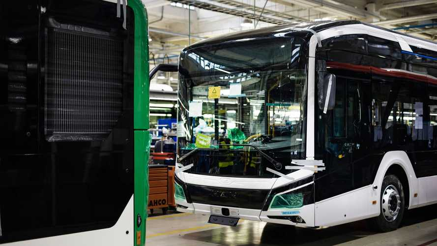 MAN Starts Series Production Of The All-Electric Lion City E