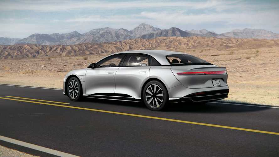 Lucid Names Its Base Model Lucid Air Pure
