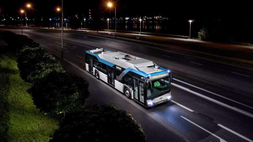 Solaris Scores Large Electric Bus Order In Romania