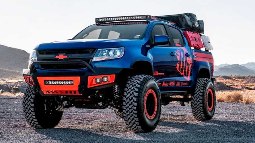 Chevy Colorado Diesel Overlander With Roof Tent Heads To Auction