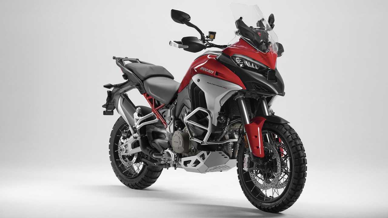 2021 Ducati Multistrada V4 S, Ducati Red, Wire spoke wheels
